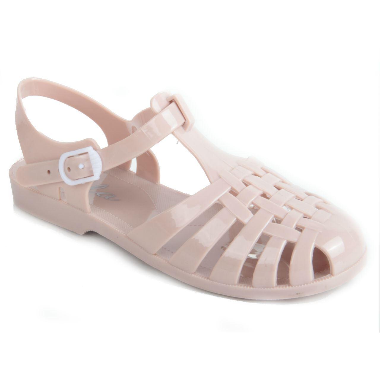 womens jellies jelly bean flat shoes juju summer plastic