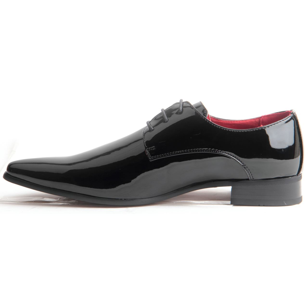 mens formal lace up pointed toe genuine leather lining
