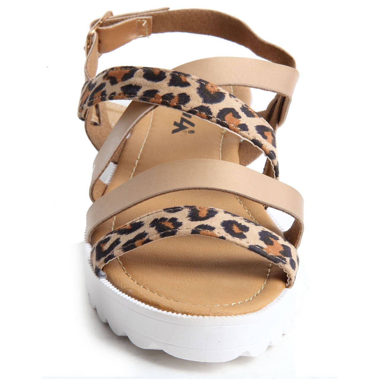 Get a comfy and trendy look with these Leopard Print Wedge Shoes!!!!