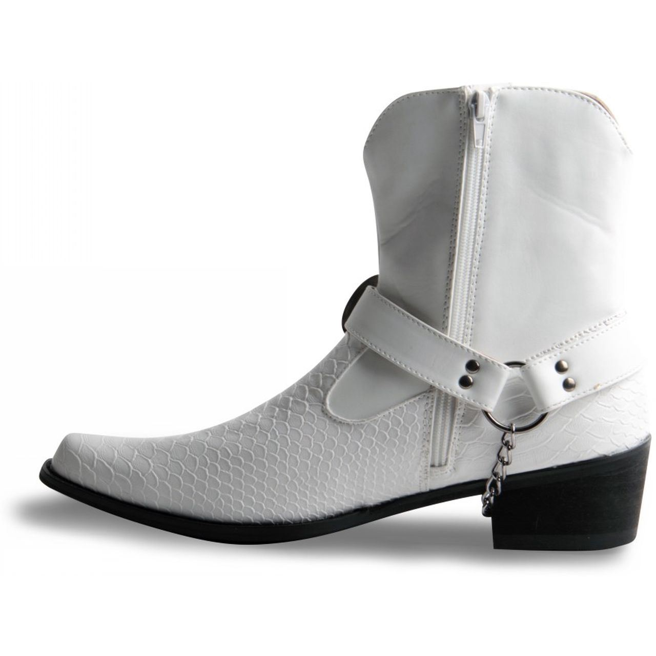 Mens White Boots - Cr Boot