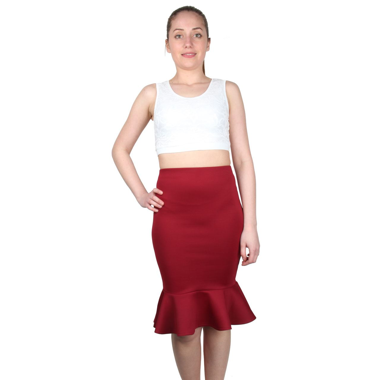 Midi skirts make a fabulous addition to any woman's wardrobe. Whether she is in the market for casual looks or is looking for professional pieces for the office, there is a perfect one to suit her.