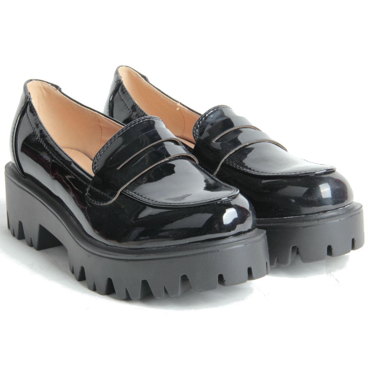 Chunky Black Shoes Sale