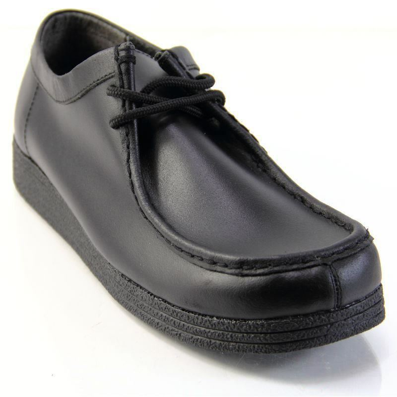 Girls Platform School Shoes
