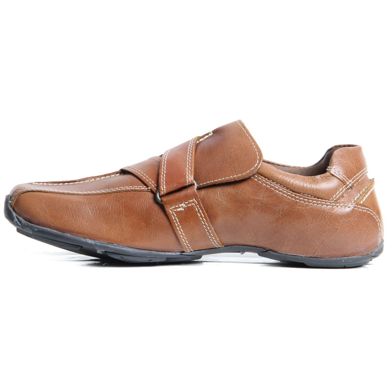 mens velcro genuine leather trainers mens