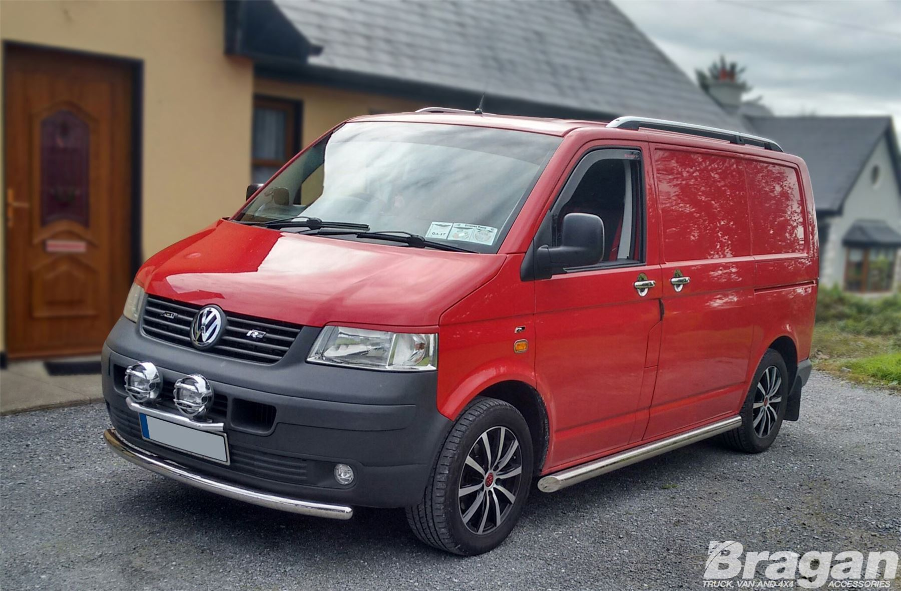 2004 2015 volkswagen vw transporter t5 caravelle lwb stainless side bars. Black Bedroom Furniture Sets. Home Design Ideas