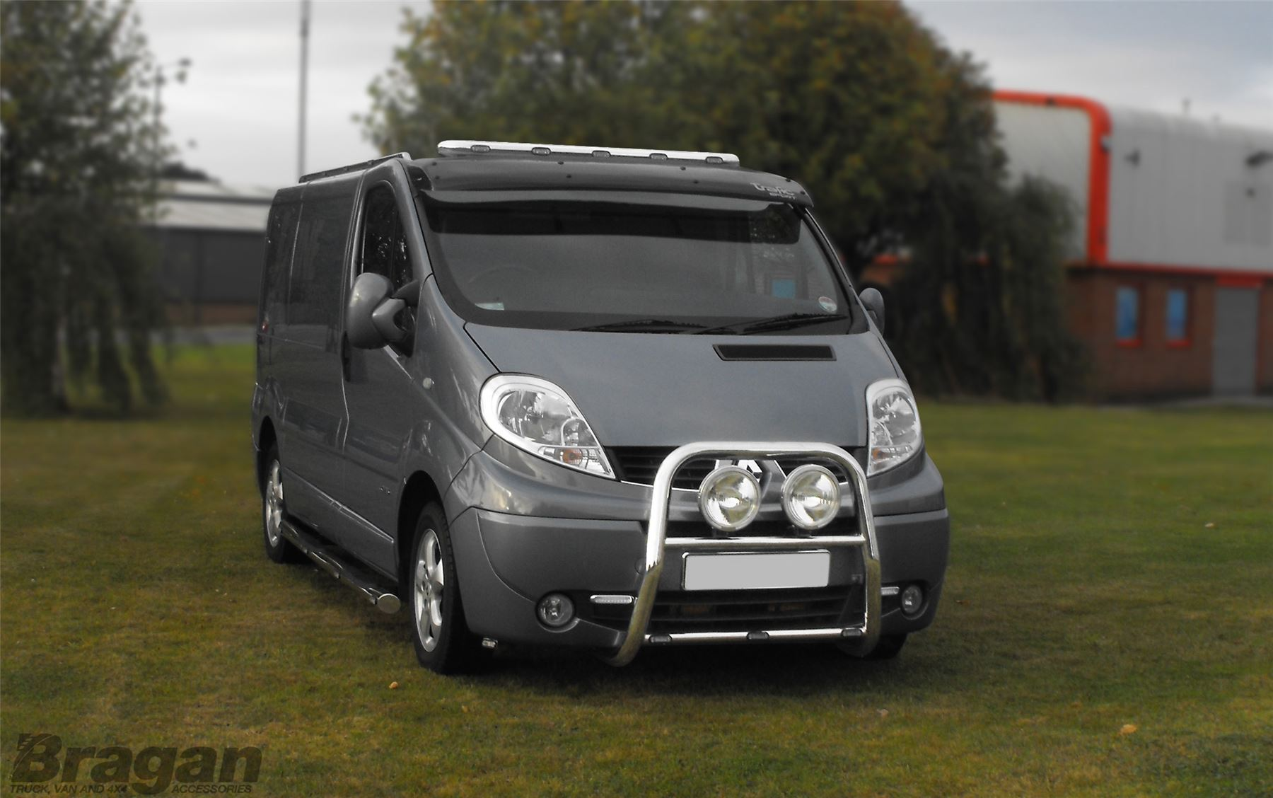 2002 2014 Renault Trafic Stainless Steel Front Low Flat