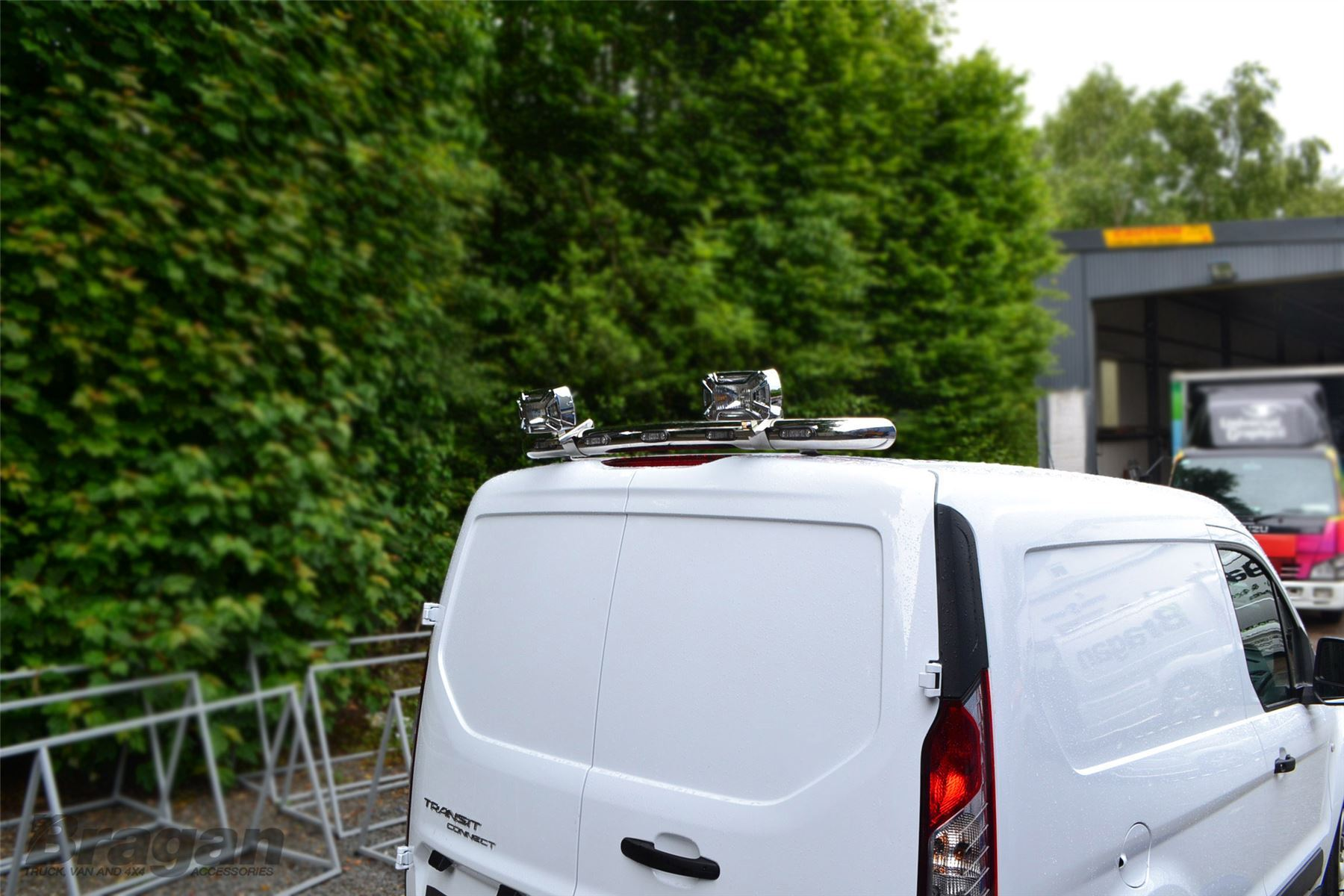 Ford transit connect van 2014 present rear roof top light bar 5