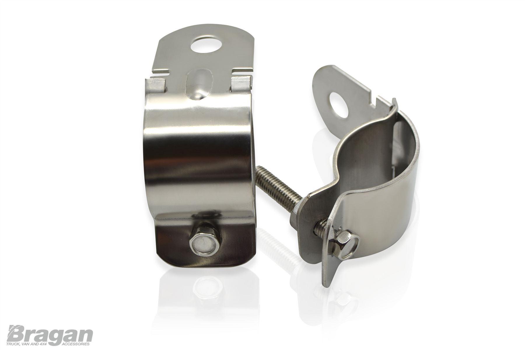 Abar bullbar bull nudge bar spot light brackets clamps