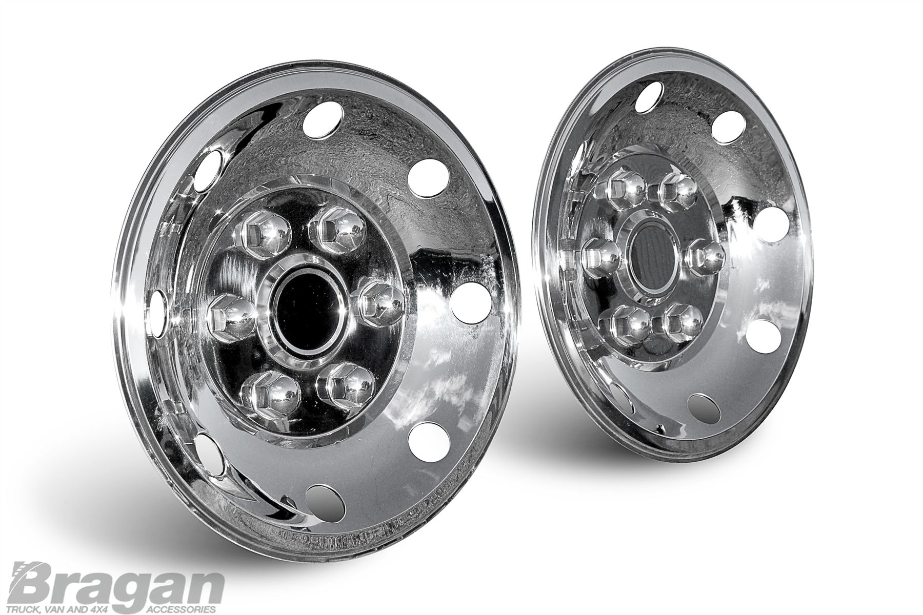 16 rear van ford transit mercedes sprinter vw crafter for Mercedes benz sprinter wheel covers