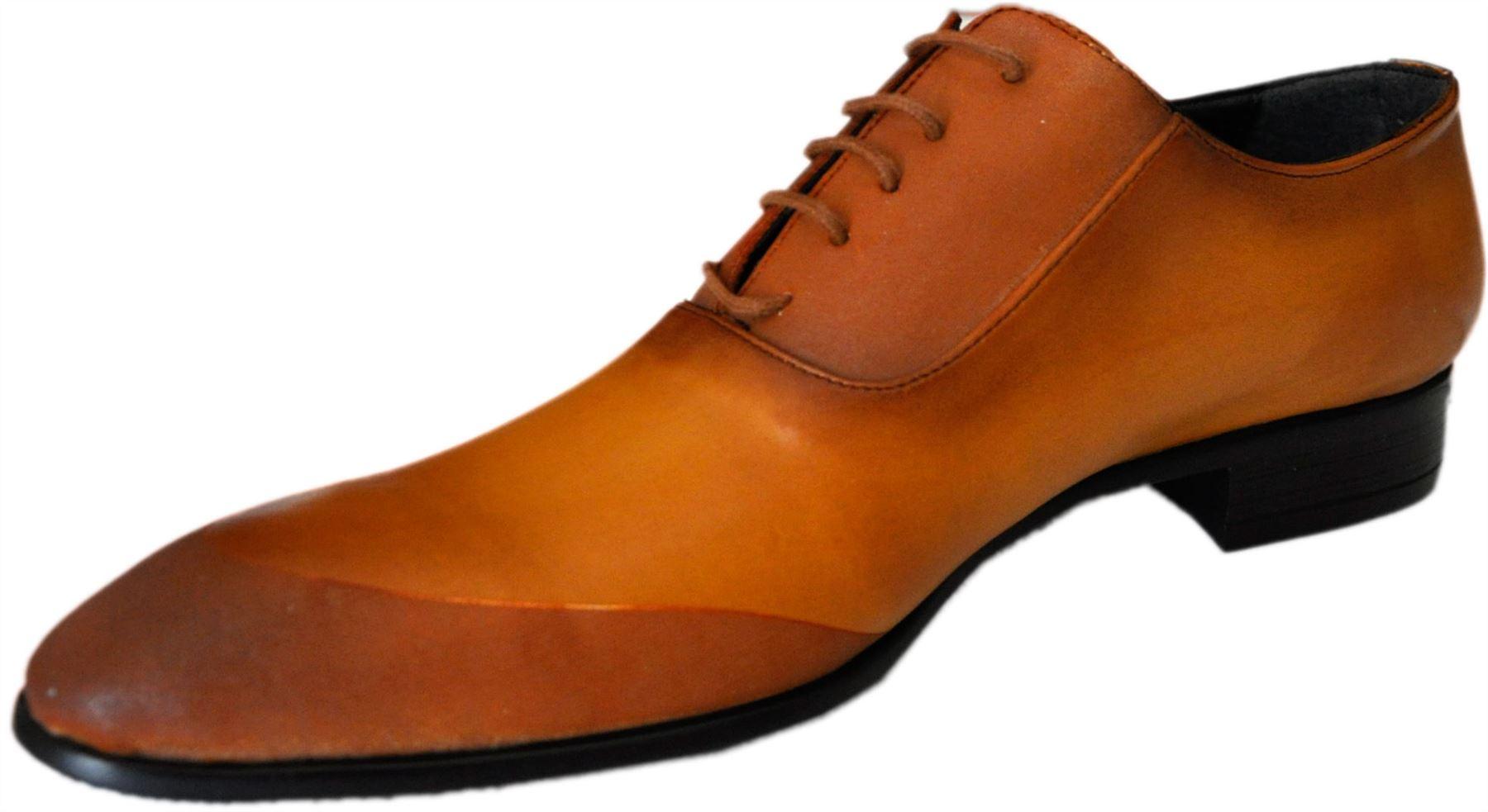 Tamboga-Chaussures-marron-et-camel-a-lacets-922mink-