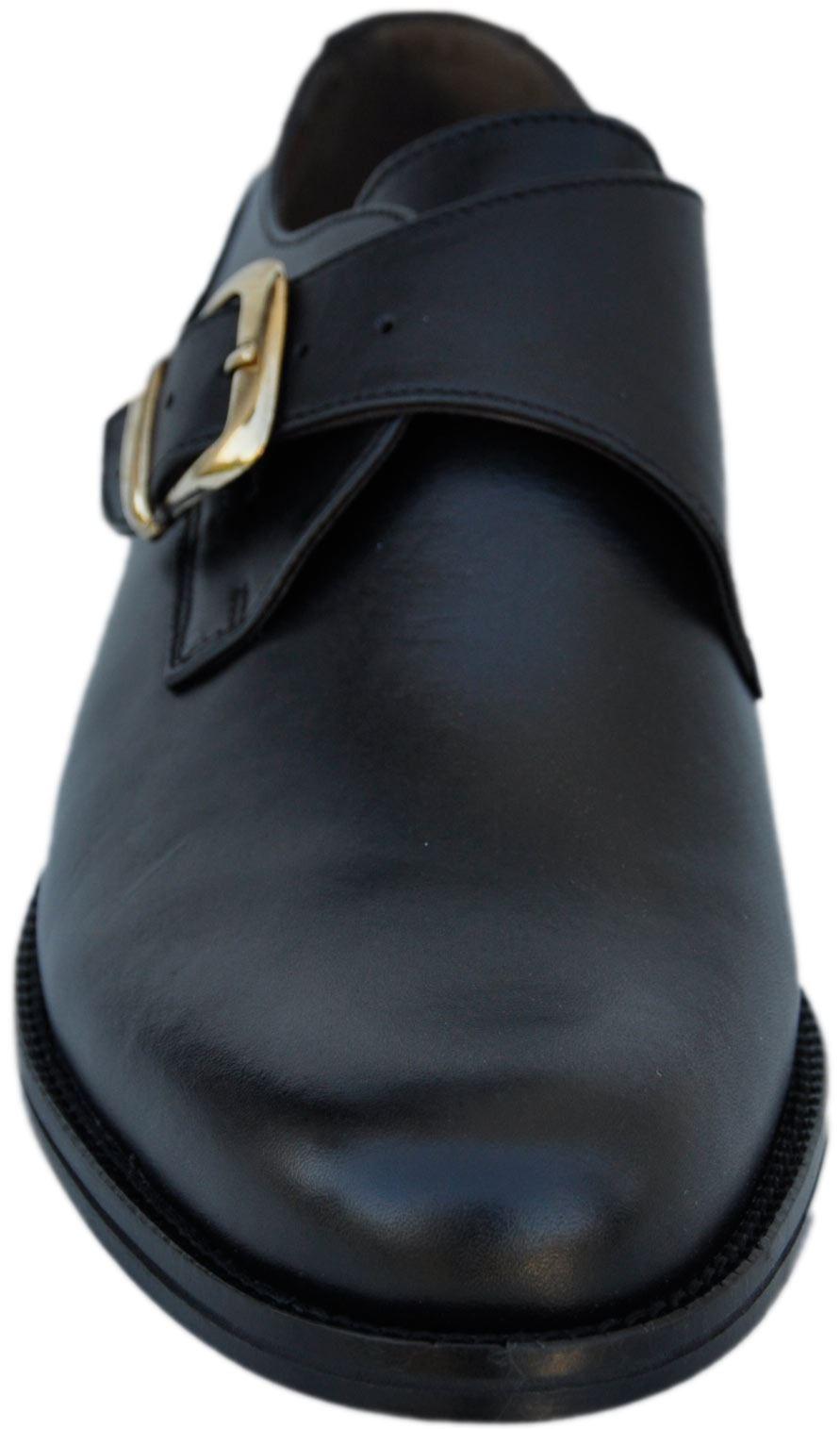 chaussures noires boucle 100 cuir artus homme noir artus ebay. Black Bedroom Furniture Sets. Home Design Ideas