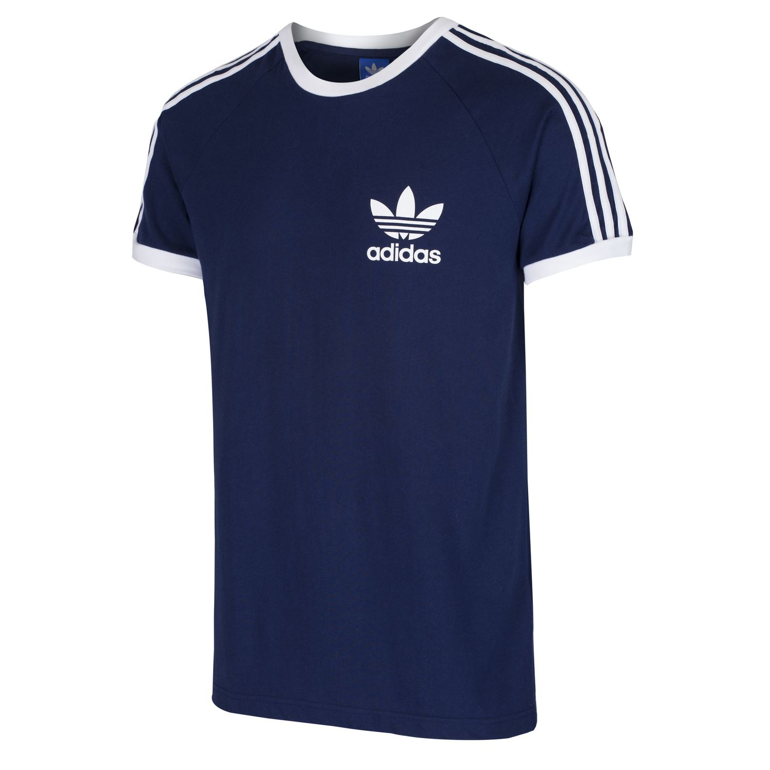 adidas originals california tee men 39 s white black navy red. Black Bedroom Furniture Sets. Home Design Ideas