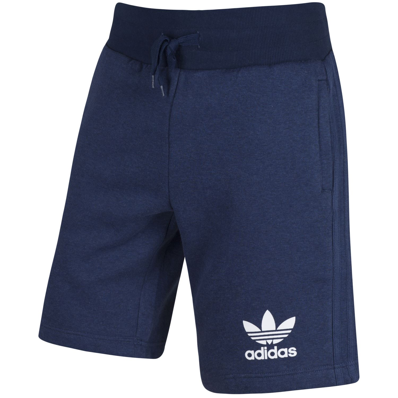 adidas originals mens sport essential shorts grey navy