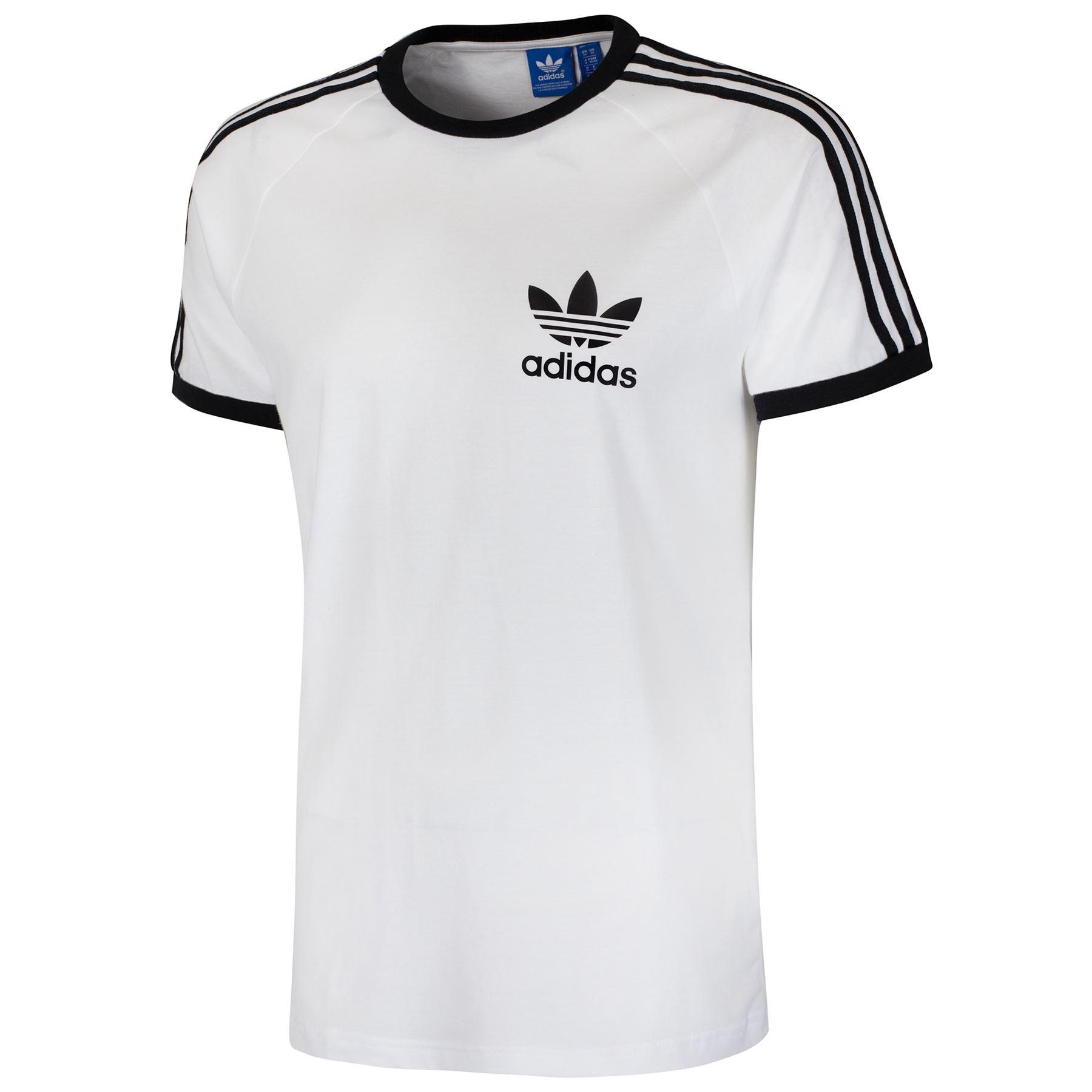Adidas originals california tee men 39 s multi colour size for Adidas trefoil t shirt
