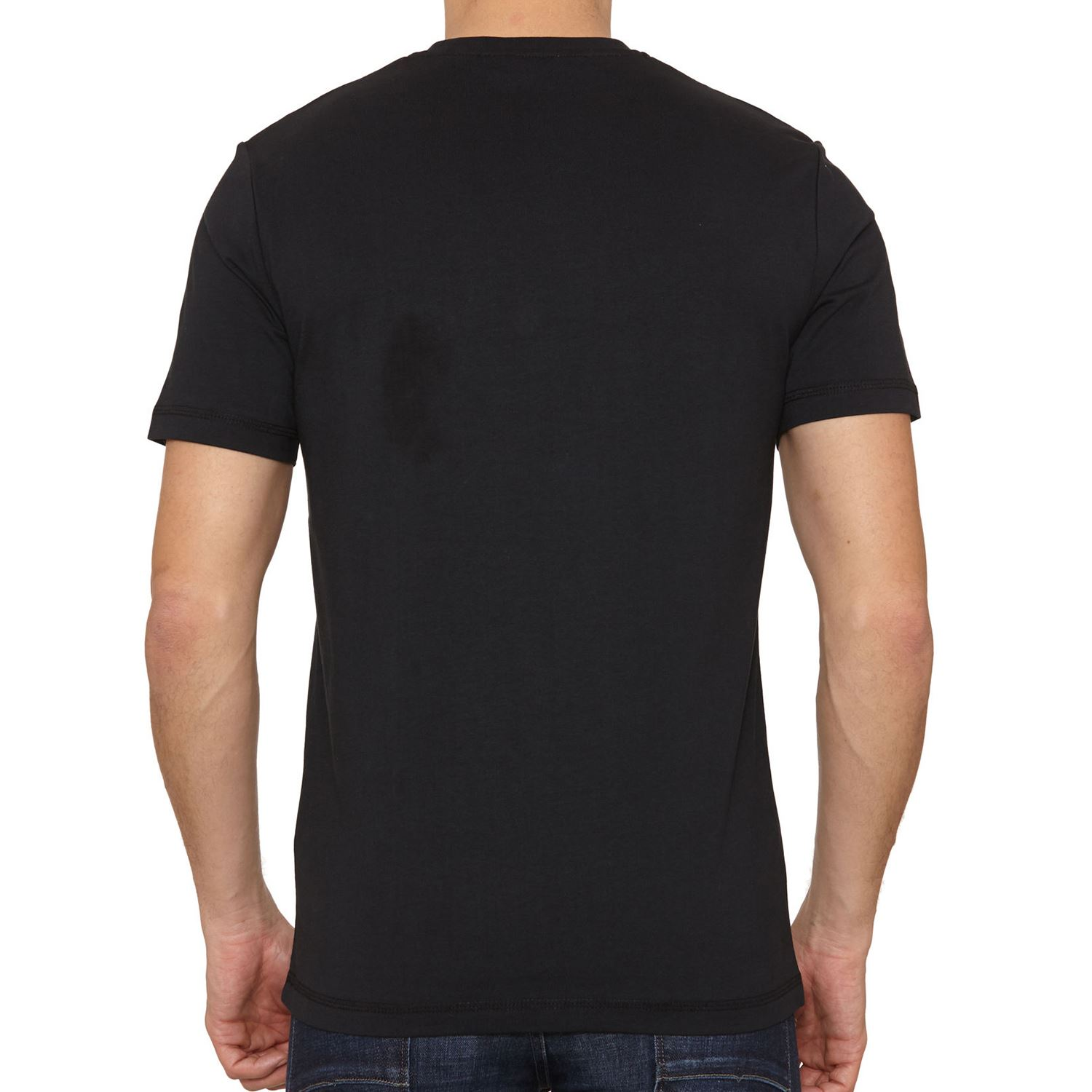 Black t shirt xxl - Original Penguin Flatlock Pocket T Shirt True Black