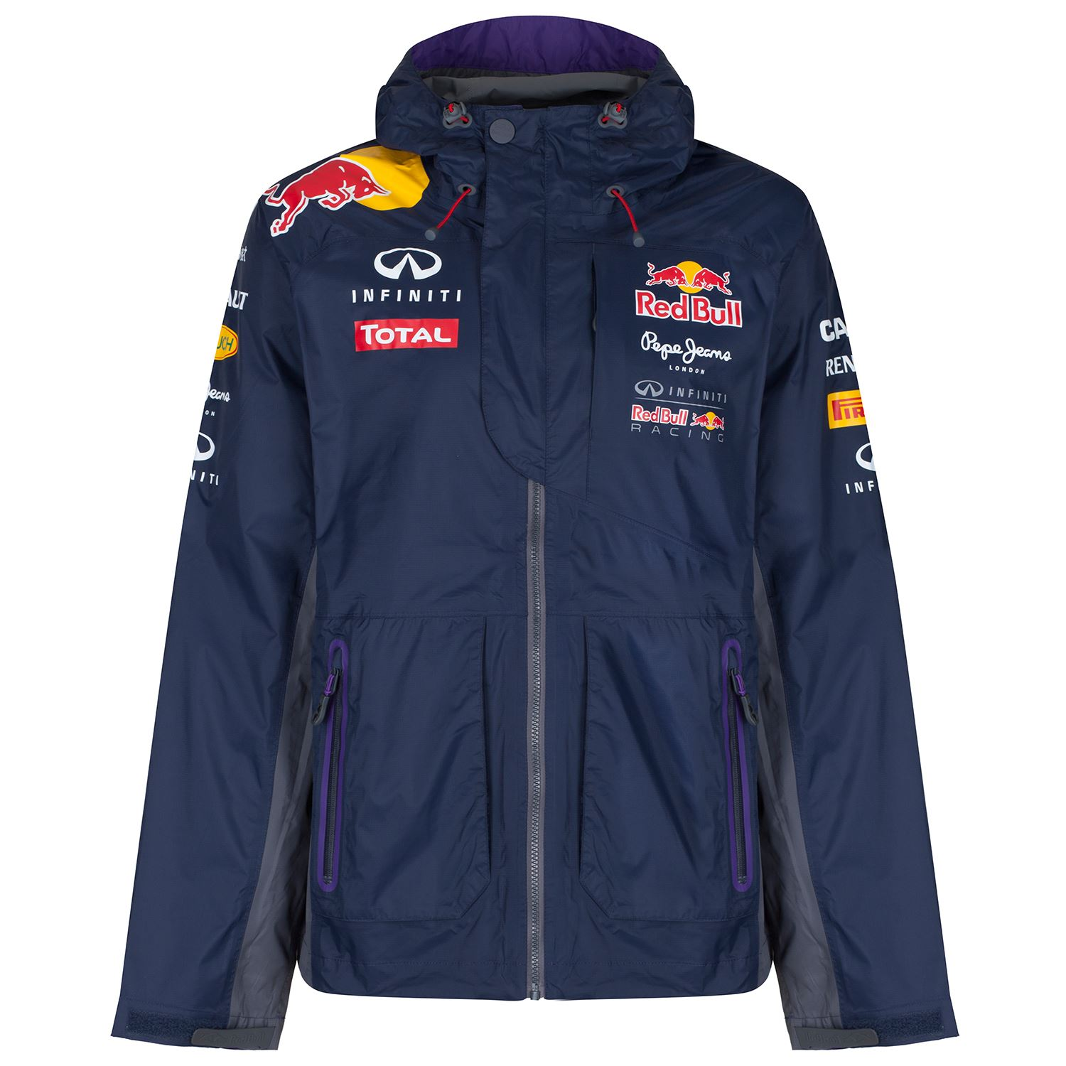 infiniti red bull racing formel 1 regenjacke pepe jeans. Black Bedroom Furniture Sets. Home Design Ideas