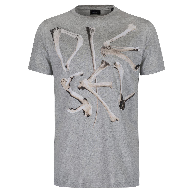 DIESEL MEN'S T-SHIRTS CREW NECK V NECK 29 STYLES SIZE S M L XL XXL