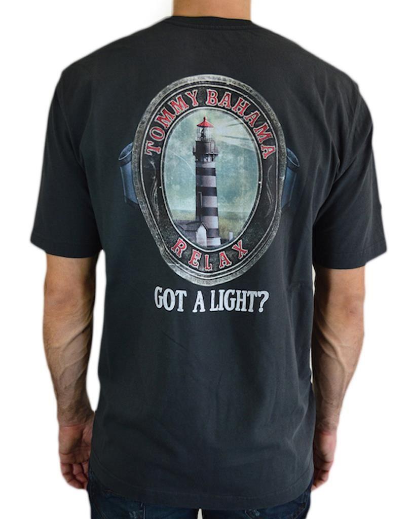 New tommy bahama men 39 s 39 got a light 39 100 cotton crewneck for Custom tommy bahama shirts