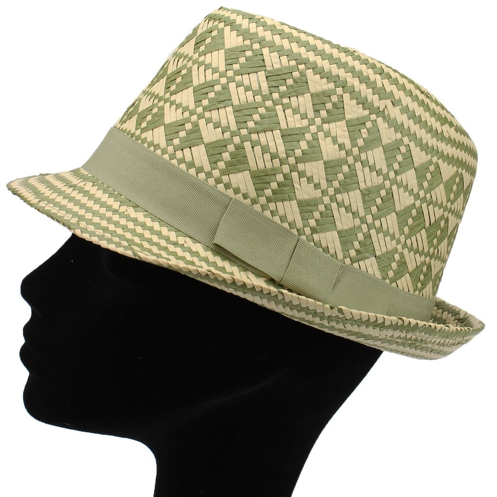 how to make a woven straw hat