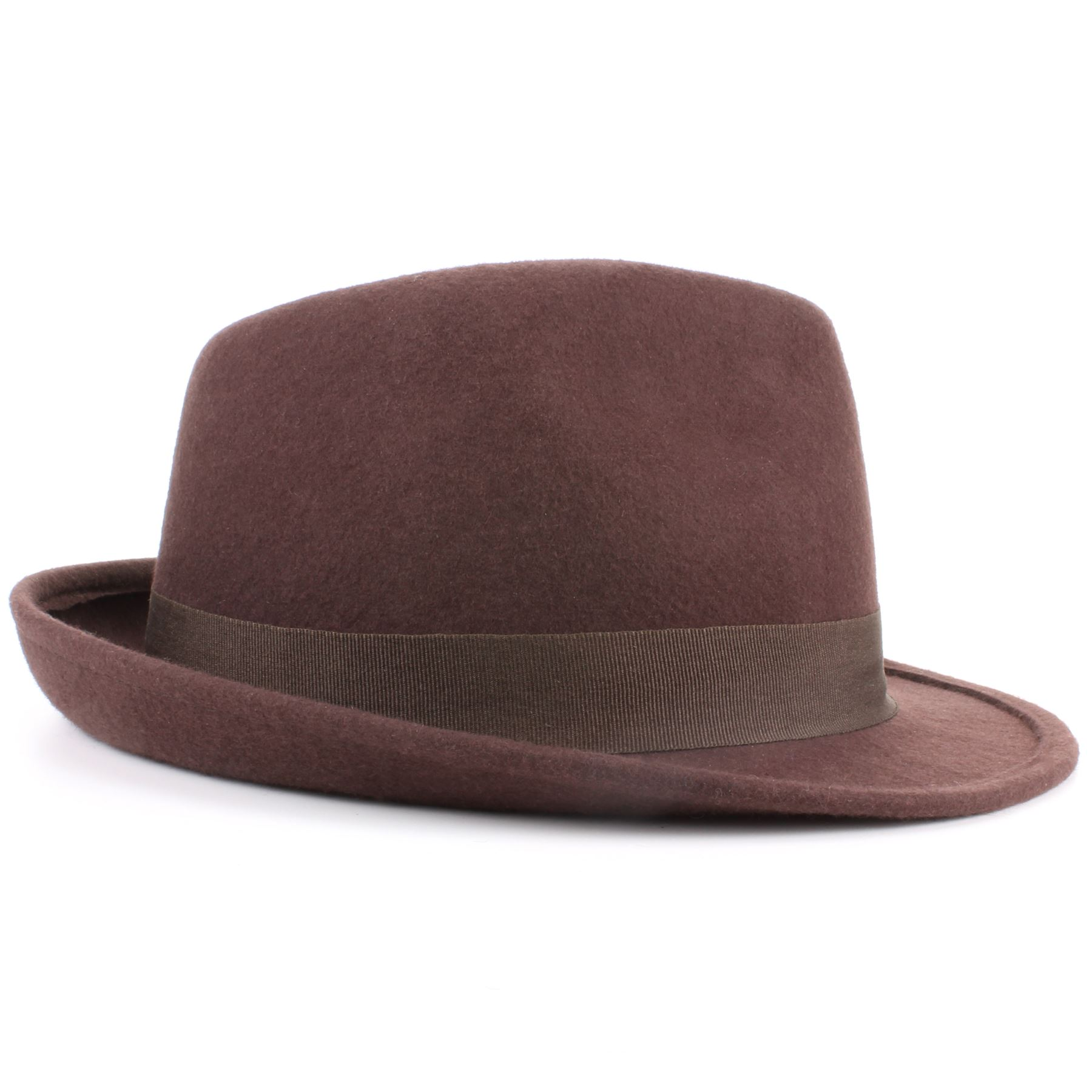 Hat with a fresh sewn textured finish. The Castor Sewn Trilby features the classic Castor shape and trimmings including a stingy curled brim, grosgrain hat band with side bow and Brixton shield logo side pin. Freshen up your look this spring and summer with the Castor Sewn Trilby, great for both men.