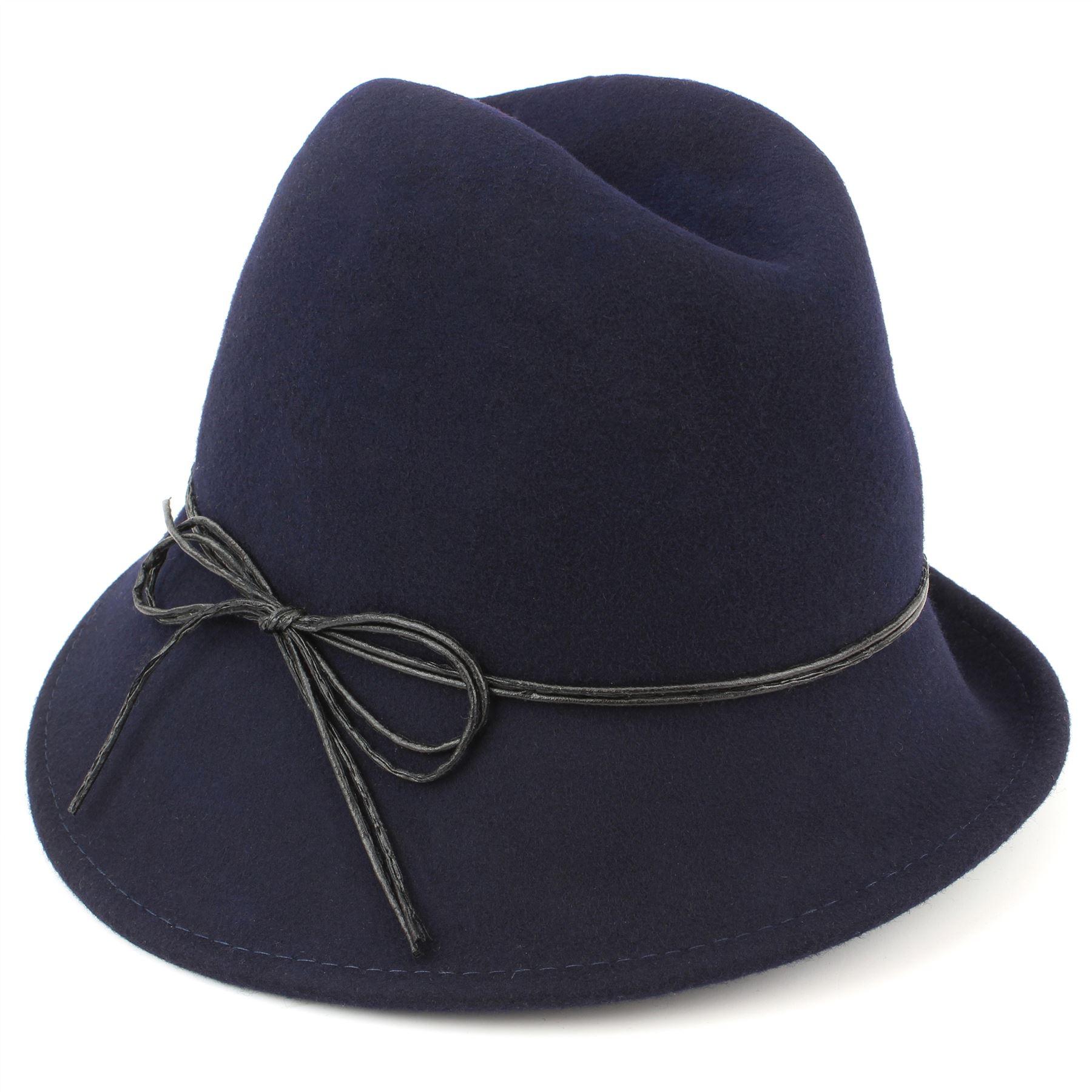 wool trilby hat felt womens hawkins cloche vintage cap