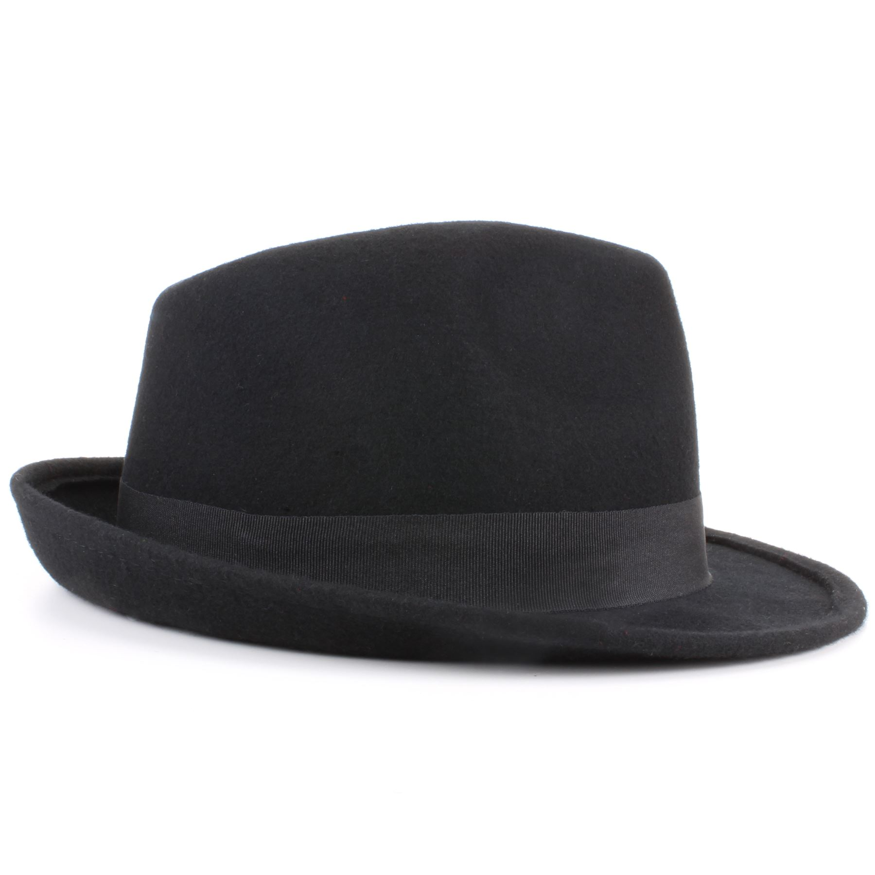 Mens Summer Fedora Hat, Poly braid Bound edge, Crushable Porkpie Hat EPf