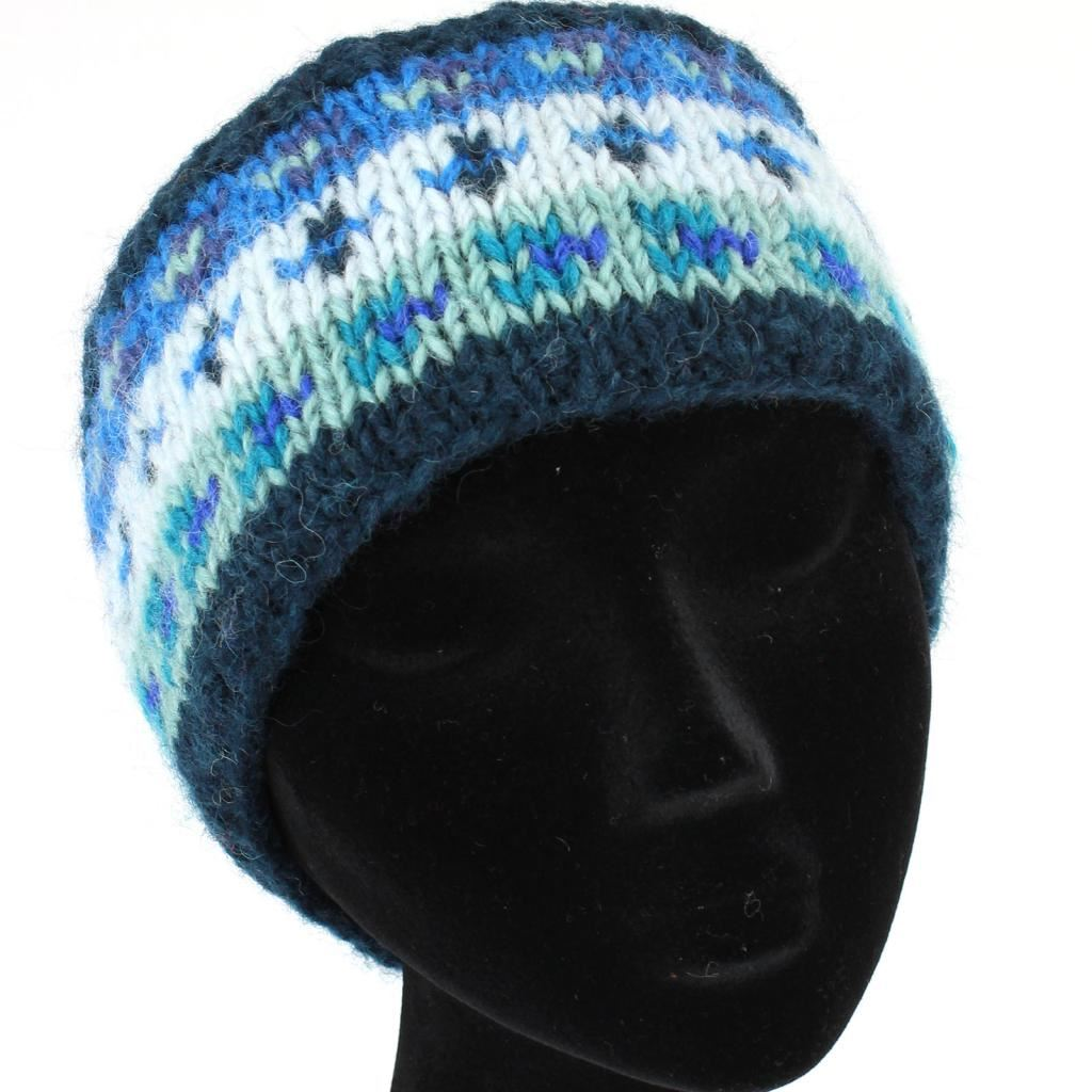 Knitting Pattern Ski Headband : WOOL KNIT HEADBAND HANDMADE SKI BAND EARWARMERS EAR MUFFS ...