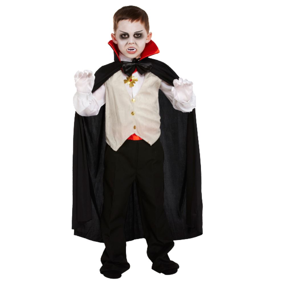 Raise the stakes with our fang-tastic collection of Vampire Fancy Dress Costumes & Accessories. Vampires have forever been a go-to dress up choice for people across the globe, mainly because they look so cool and have been the talk of folk lore and mythical stories since the dawn of time!