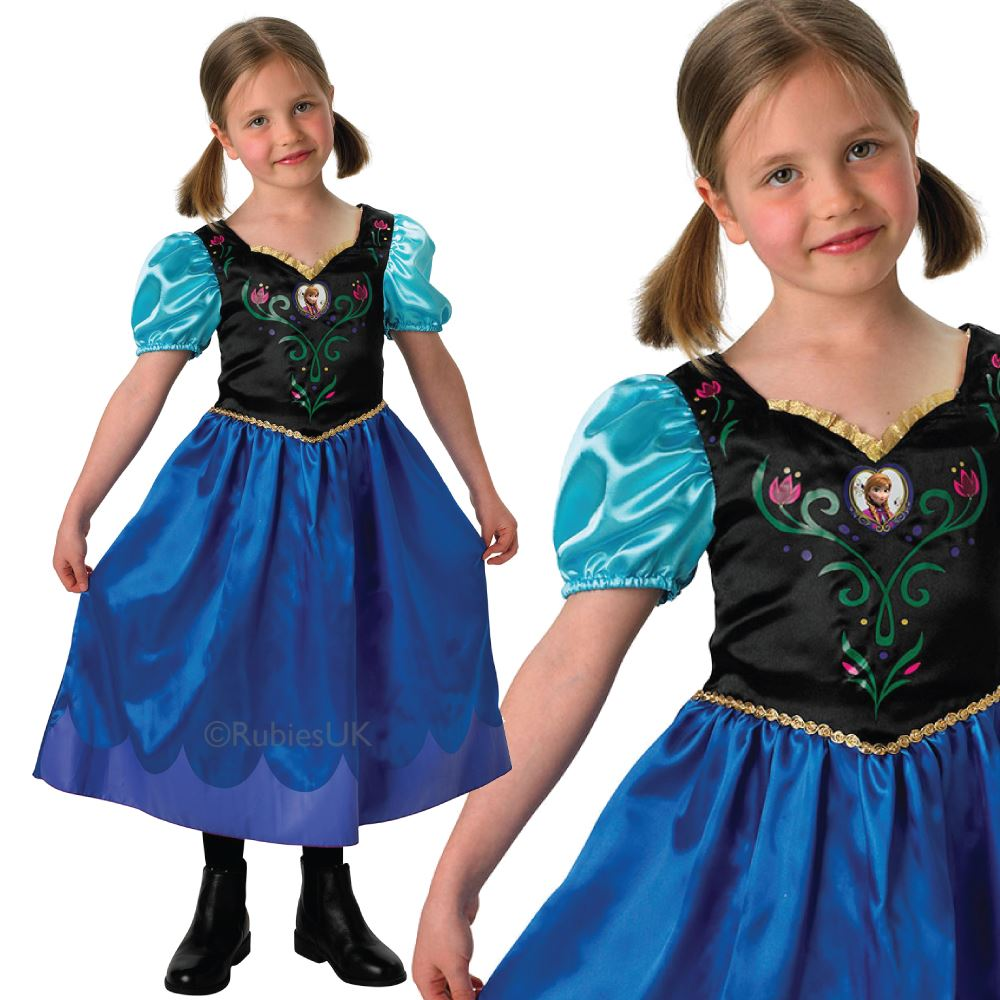 Girls-Book-Week-Fancy-Dress-Costume-Alice-Anna-  sc 1 st  eBay & Girls Book Week Fancy Dress Costume Alice Anna Elsa Frozen Barbie ...
