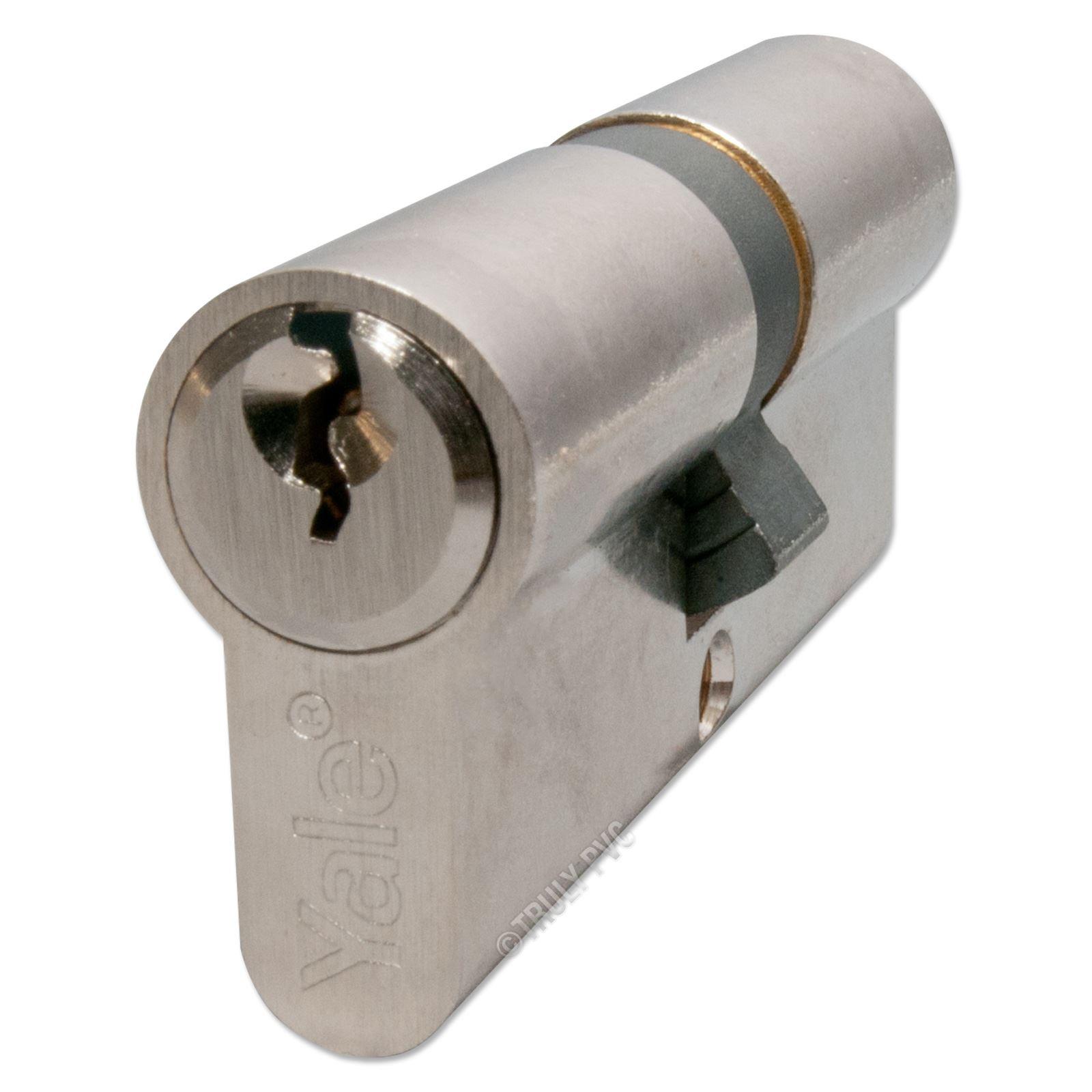 Yale euro cylinder barrel lock upvc door aluminium wood for Door yale lock