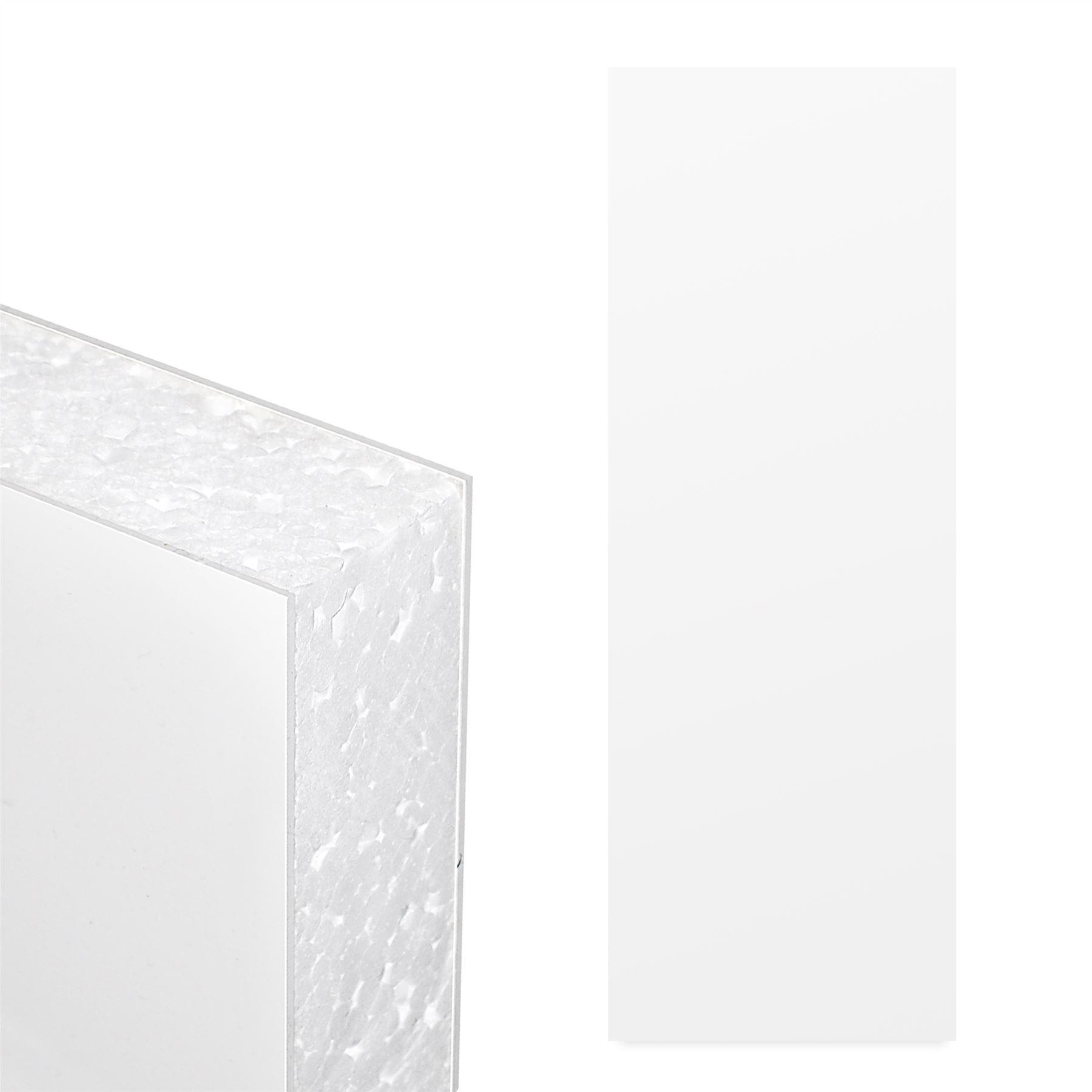 Pvc Foam Doors : White upvc flat door panel mm thick plastic