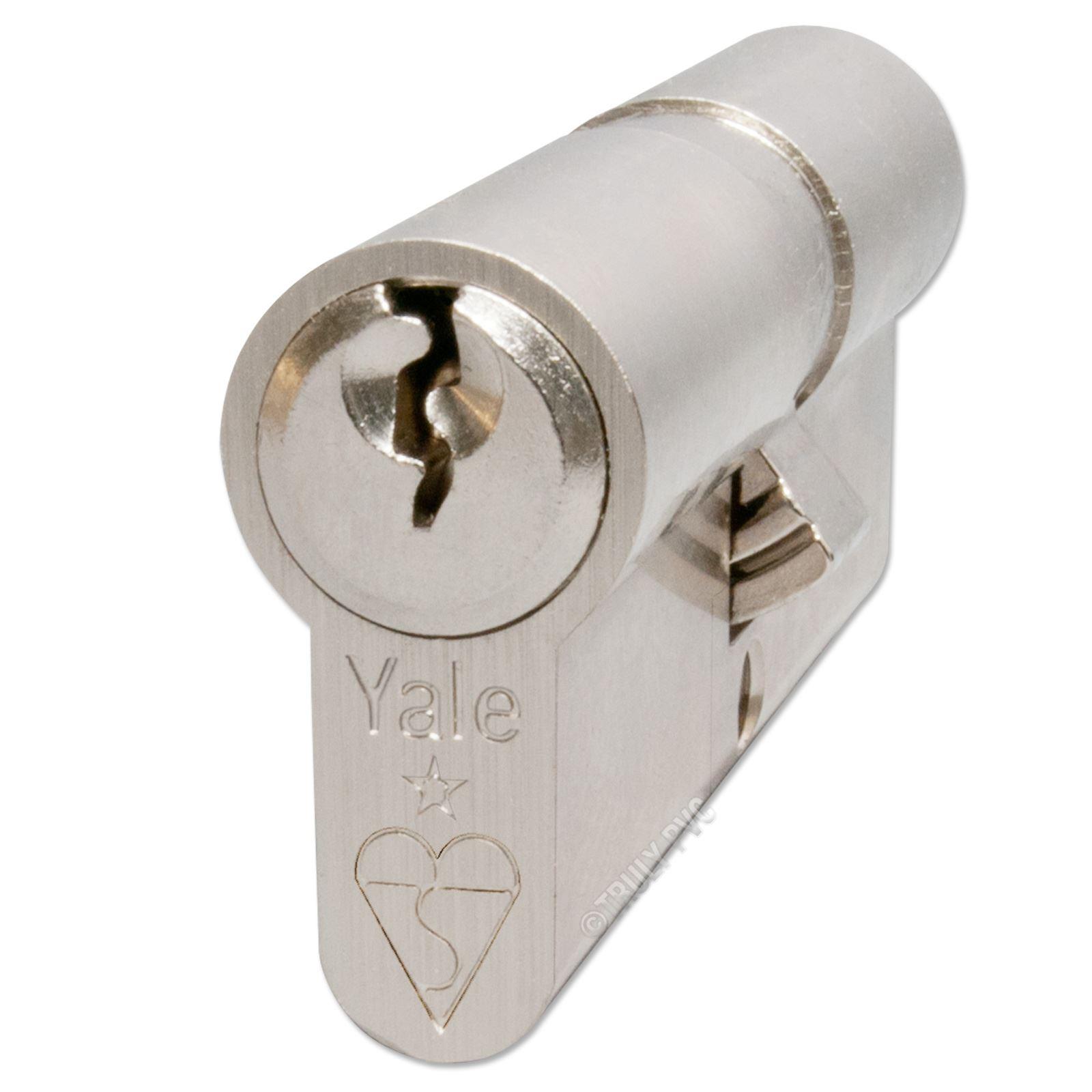 Yale anti bump euro cylinder barrel lock upvc doors ebay for Door yale lock