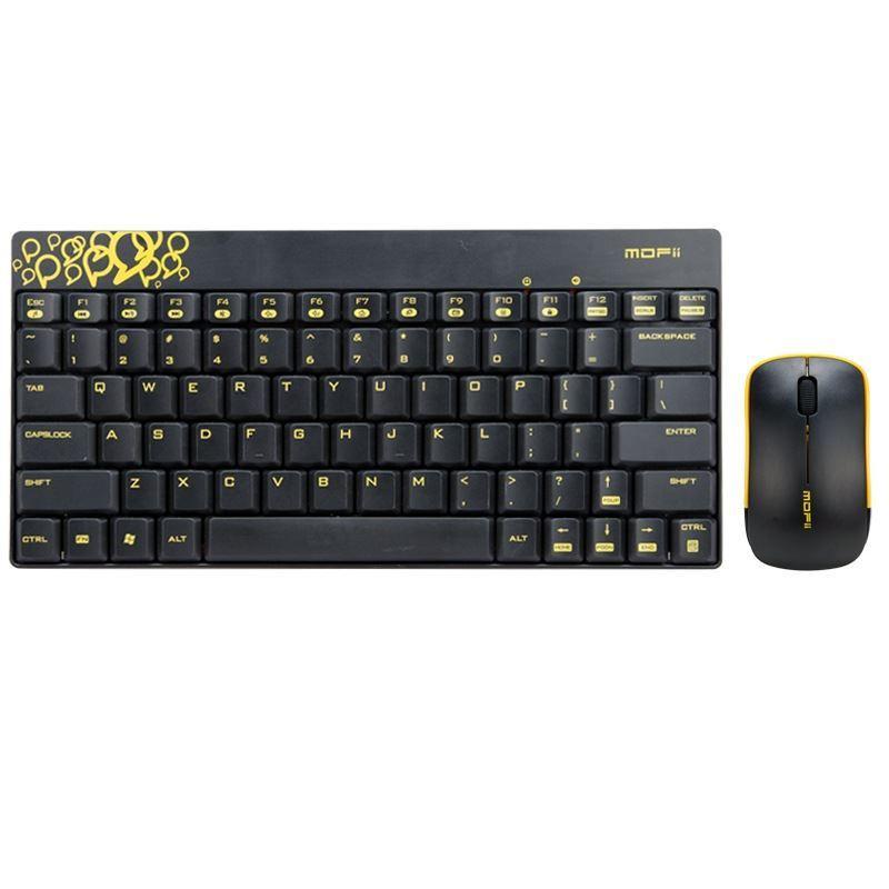 mofii go180 usb wireless gaming keyboard mouse set for mac pc laptop notebook ebay. Black Bedroom Furniture Sets. Home Design Ideas