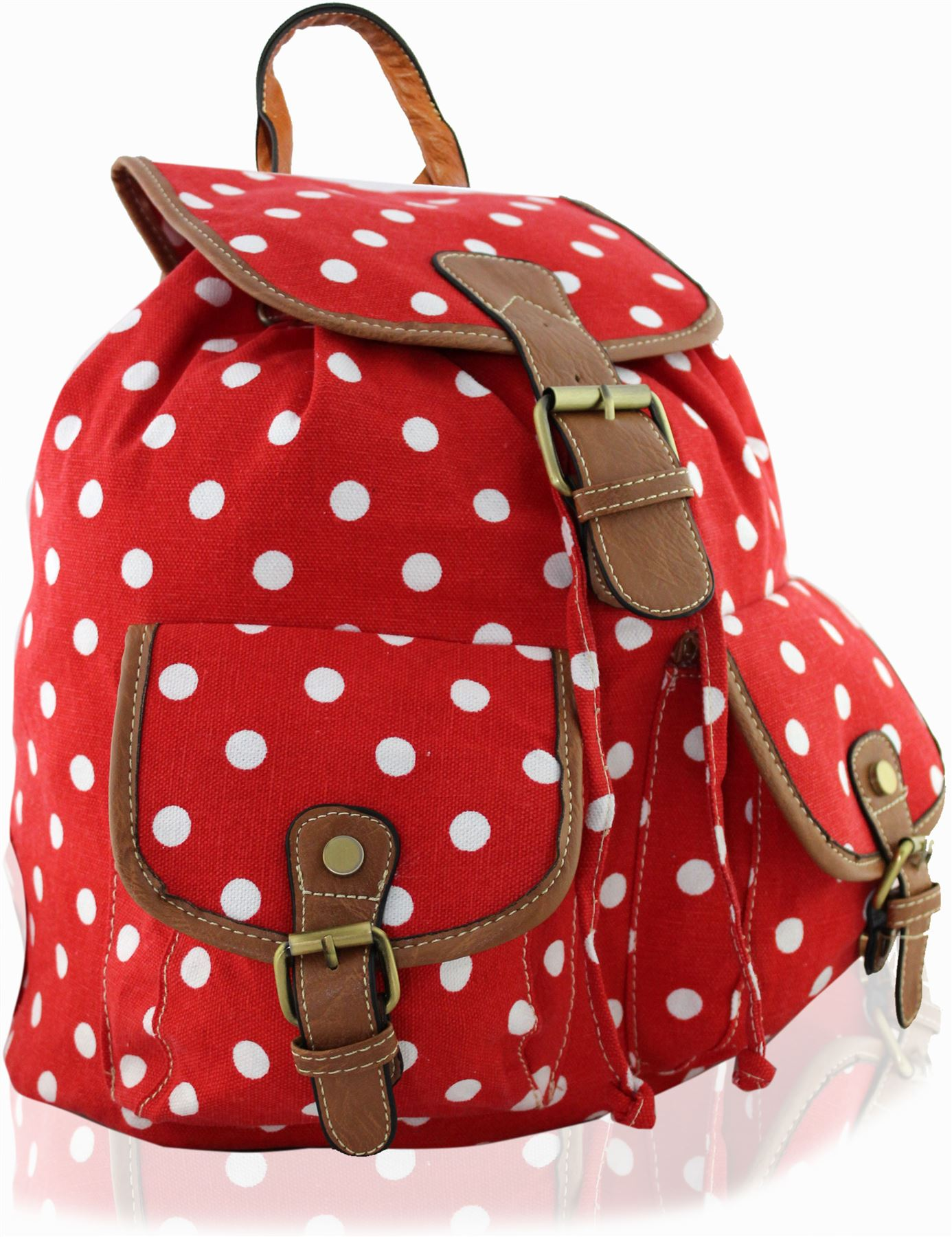 Disney Girls' Minnie Mouse Polka Dot 5 Pc Set Backpack, Pink, One Size. This backpack set featuring Minnie mouse on a fun polka dot background comes with many of the essentials needed for school. With a backpack, lunch kit, drawstring bag, zip pouch, and water bottle, your little one will be ready to go to school in style. more.