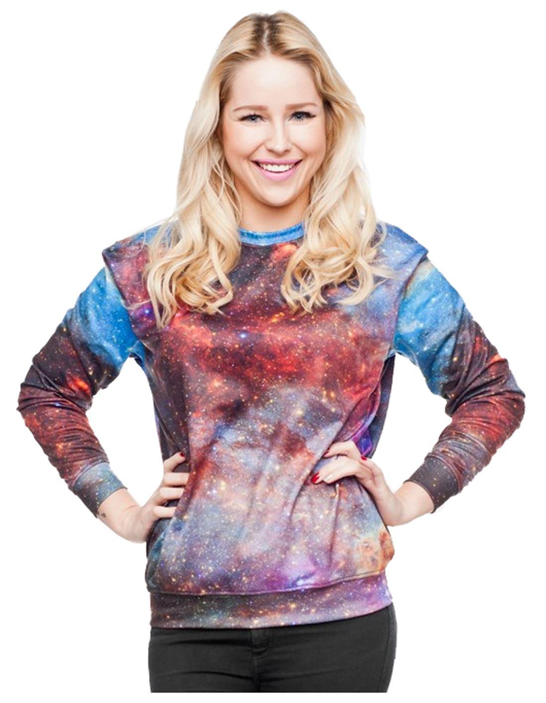 Galaxy Cat Sweater Uk