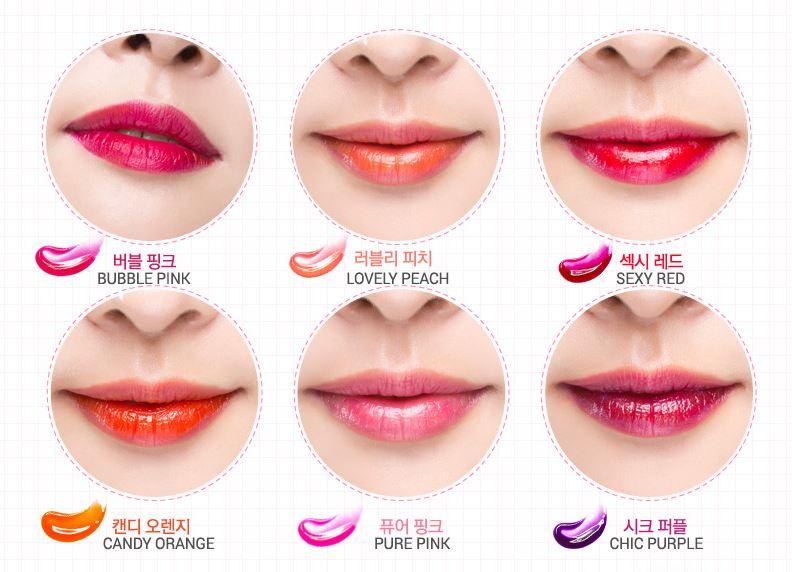 Тинт для губ Romantic Bear - цвет Sweet Orange