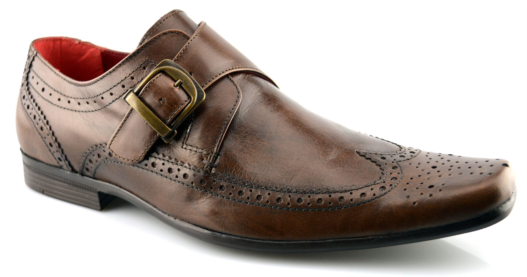 Van Heusen Double Monk Strap Shoes