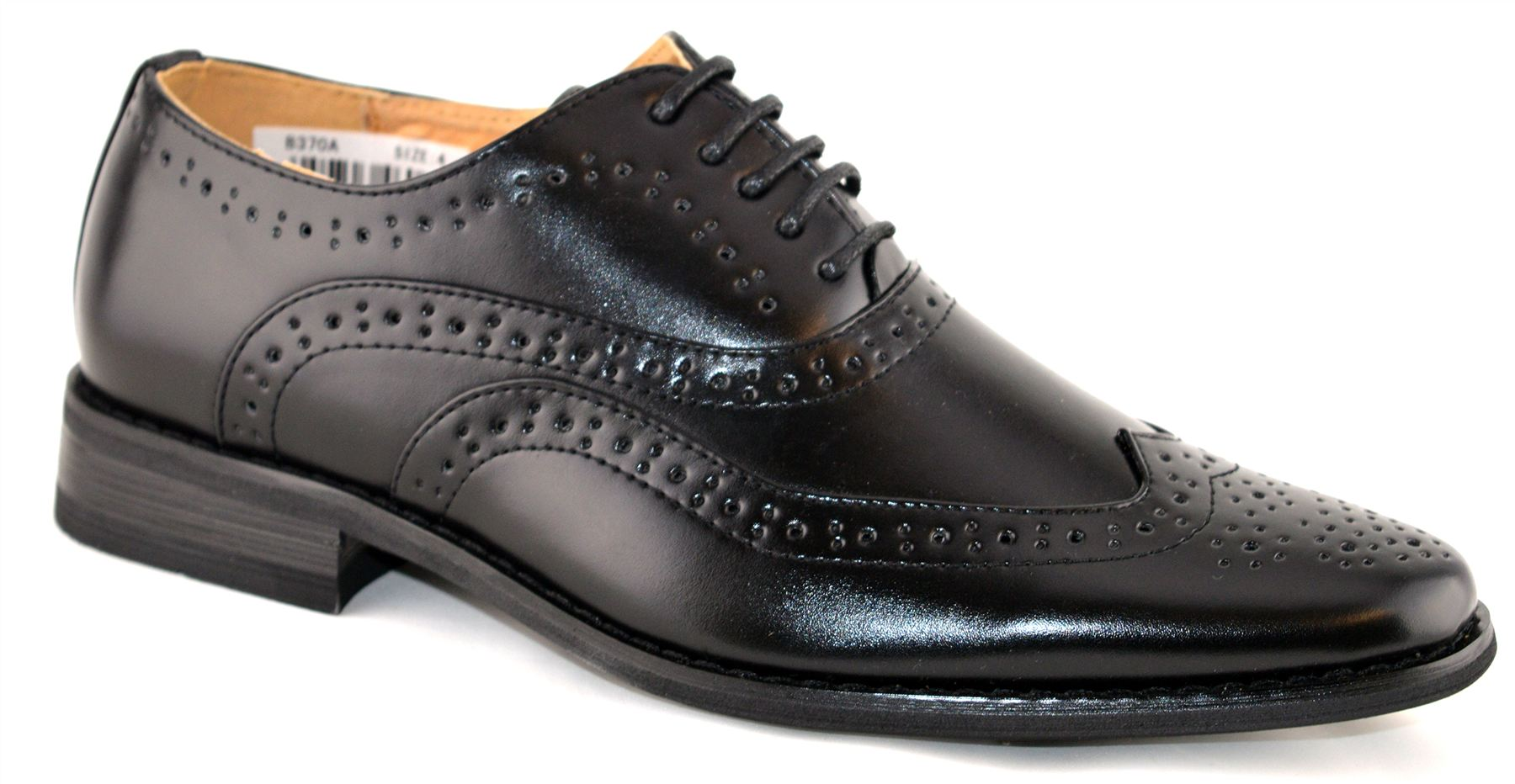 Flamingo Boys Wedding Classic Black Patent Brogue Hook and Loop Formal Prom Shoes. £ JCDees Boys Brogue Style Formal/School Shoes. £ SIRRI Boys Tan Brogues Boys Formal Oxford Shoes Kids Wedding Communion Shoes Kids Brogue Shoes. £ 5 out of 5 stars 3.