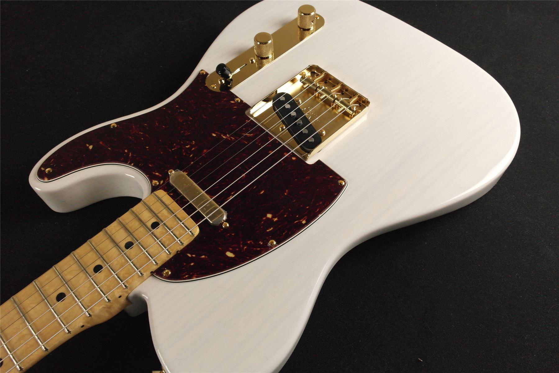 Fender limited edition select light ash telecaster white for Select light