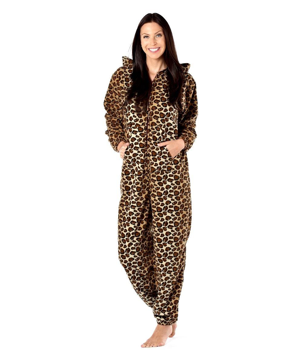 Cartoon Leopard Onesie Pajamas