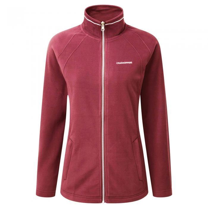 Craghoppers Womens/Ladies Madigan Interactive Fleece Jacket Full ...