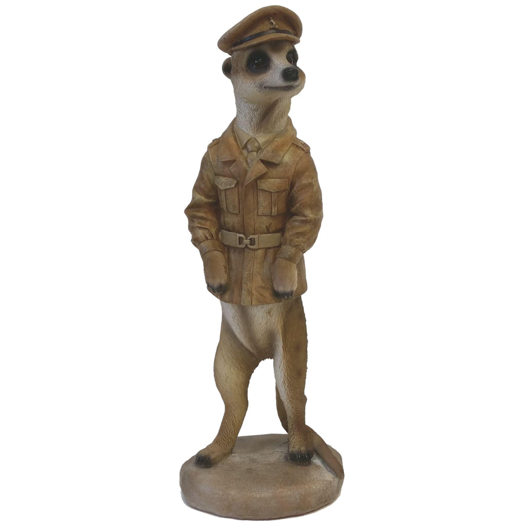 Meerkat Ornament Figurine Garden Or Home 28cm Tall Ebay