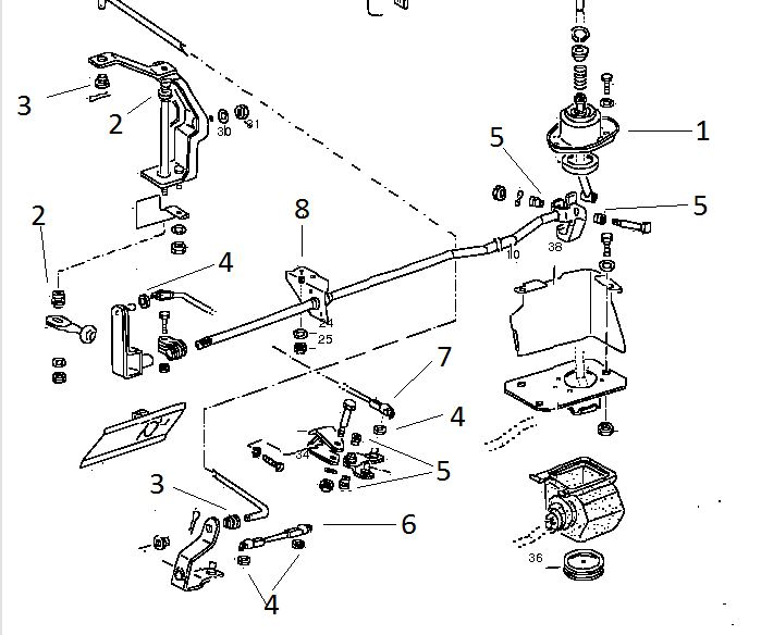 gear shift repair kit 5