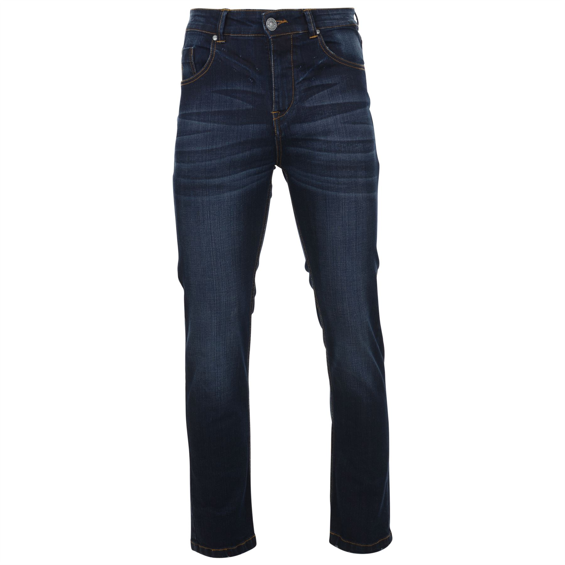 Blue Regular marlow 64 Kam Inches Mens To Waist Fit Washed 40 In Jeans Stretch 7Z17X5A0q