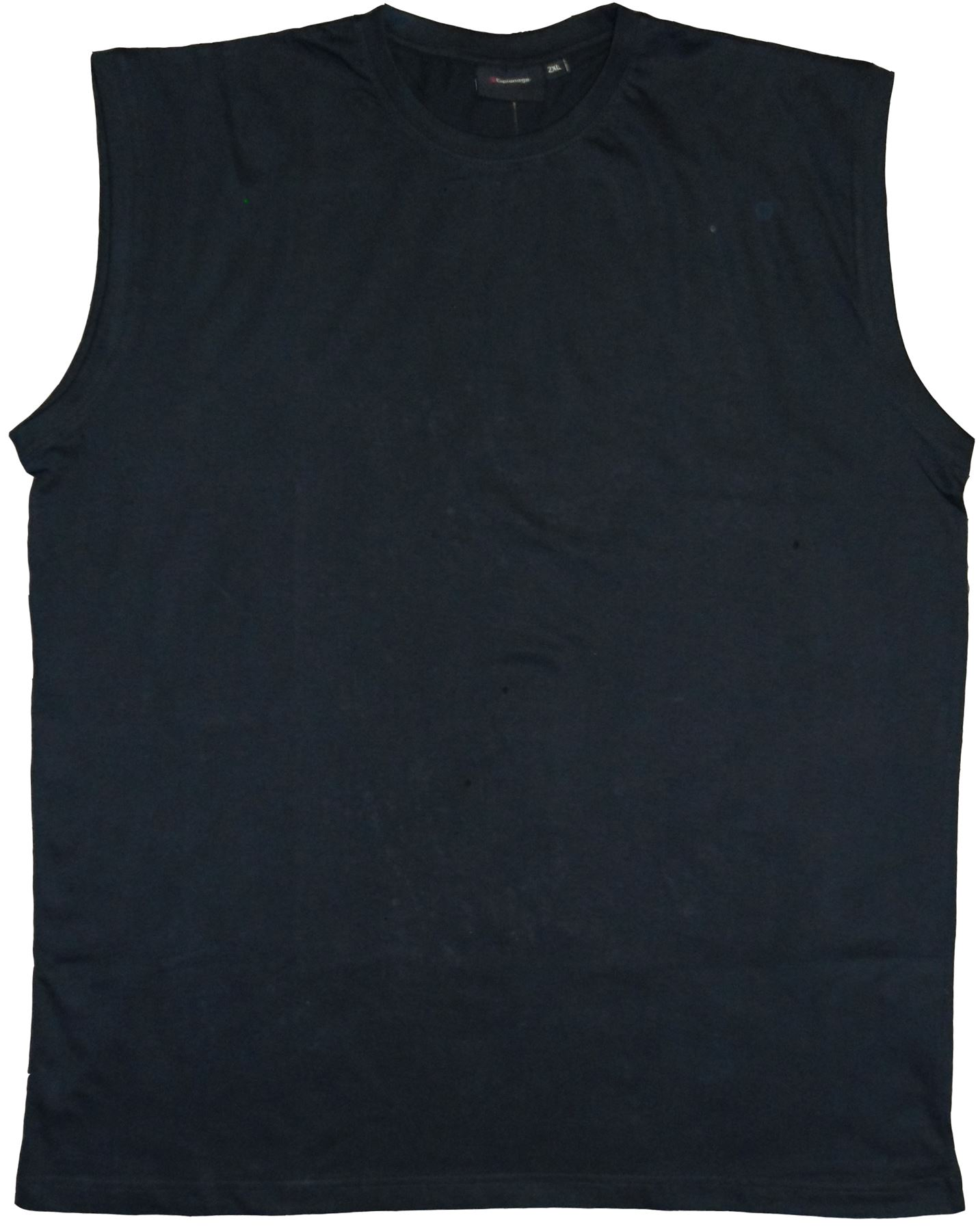 Espionage Combed Cottton Crew Neck Sleeve Less Muscle Tee,Size 2XL-8XL, 8 Colors