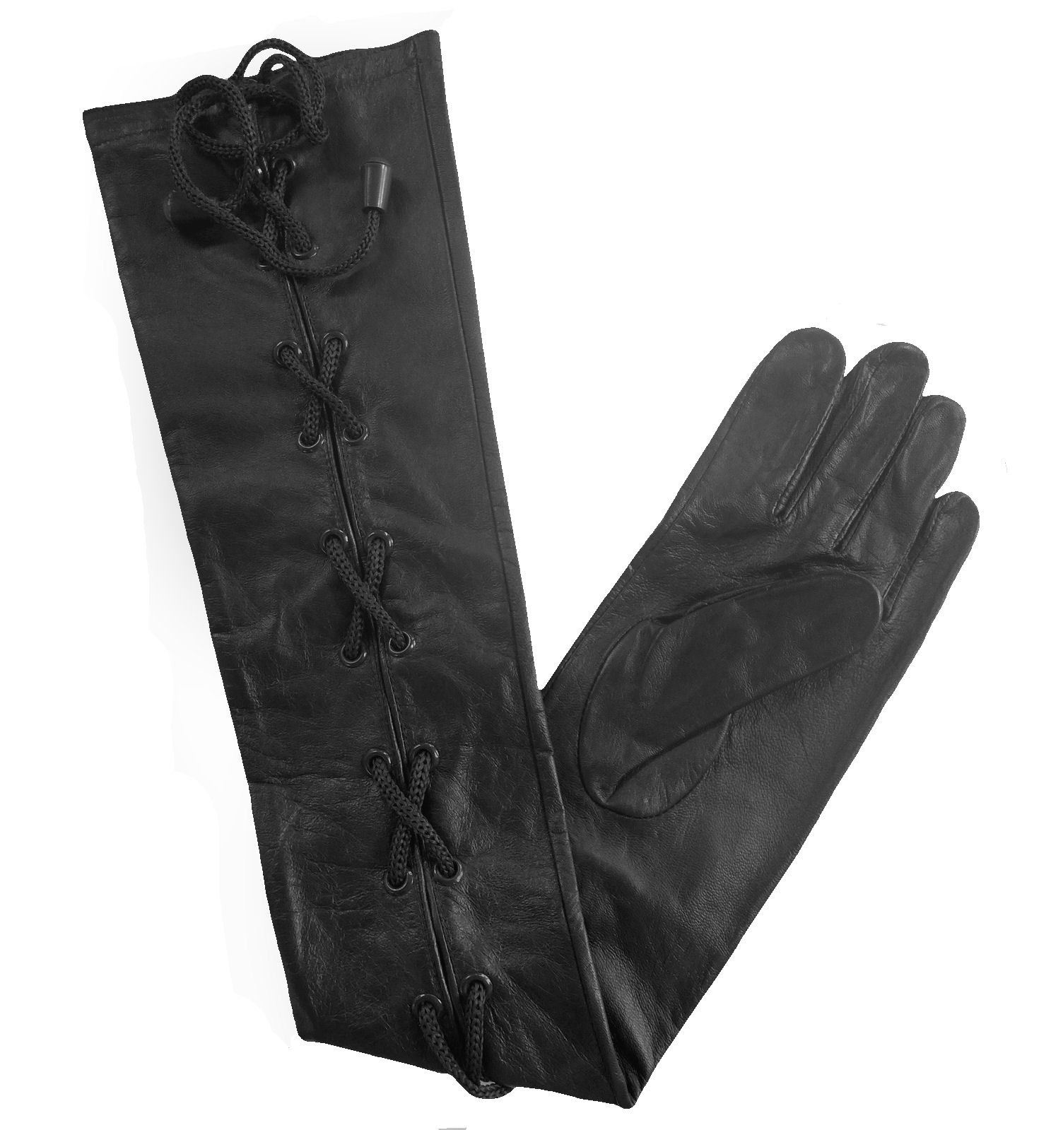 gants longs en cuir noir rouge marron cr me blanc femme homme xs xl ebay. Black Bedroom Furniture Sets. Home Design Ideas