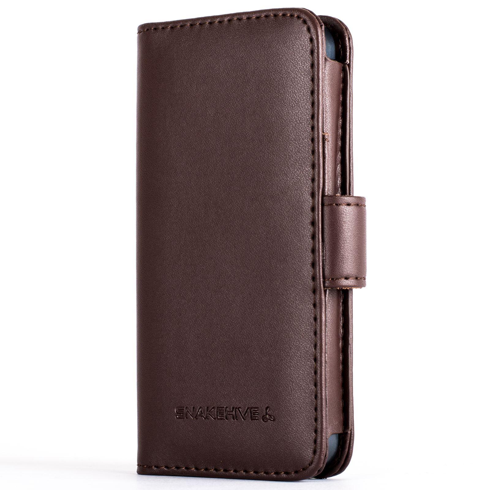 snakehive premium leather wallet flip case cover for. Black Bedroom Furniture Sets. Home Design Ideas