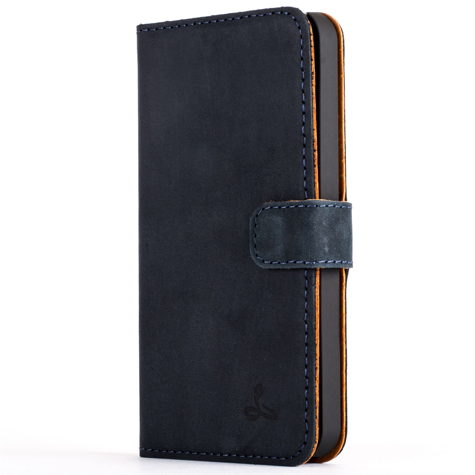 Snakehive vintage nubuck leather wallet case cover for apple iphone 5 5s se ebay - Iphone 5s leather case ...