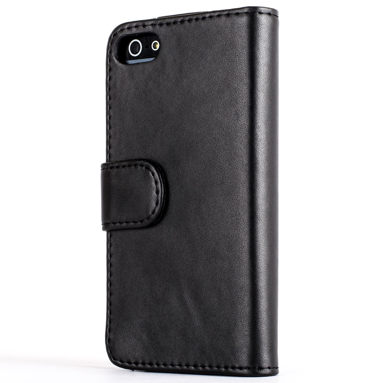 Snakehive premium leather wallet flip case cover for apple iphone 5 5s se ebay - Iphone 5s leather case ...