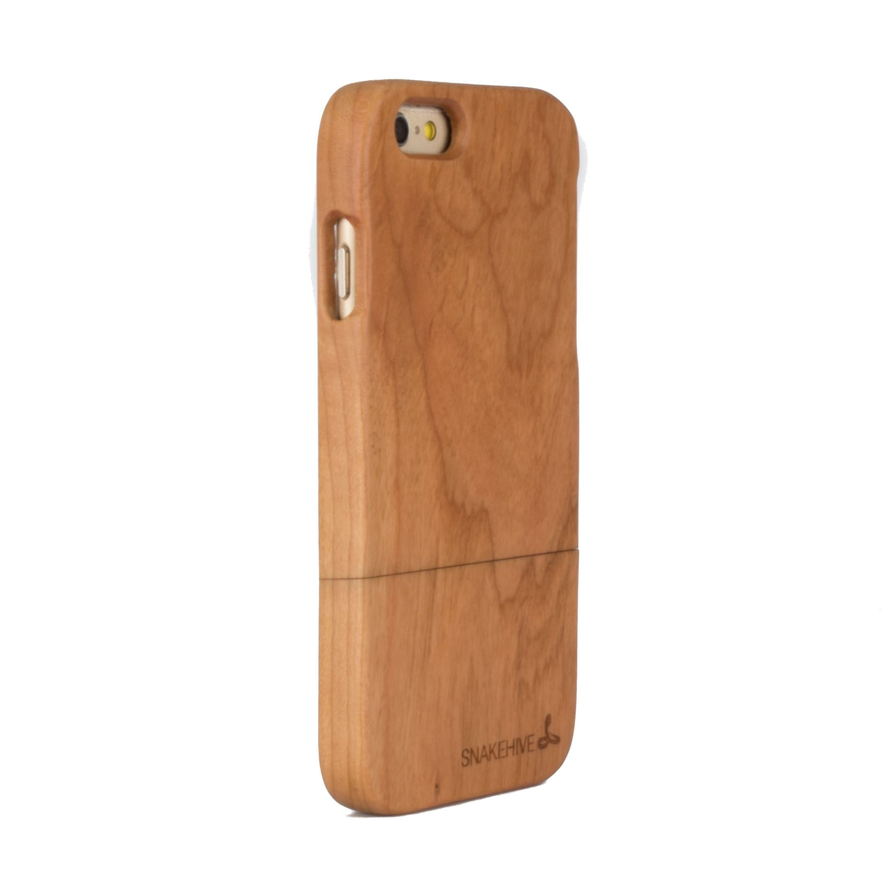 snakehive real solid wooden case cover for apple iphone 6 6s natural wood ebay. Black Bedroom Furniture Sets. Home Design Ideas